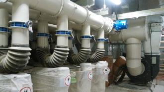 原子力対策用空気清浄装置