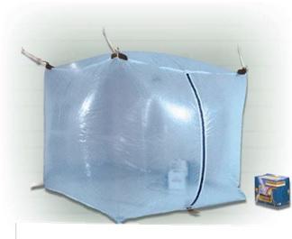 NBC防護 陰圧屋内用テント1A-2023-0F (ブルーライナー)