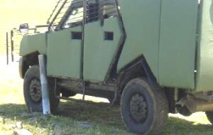 対RPG車両用防弾板
